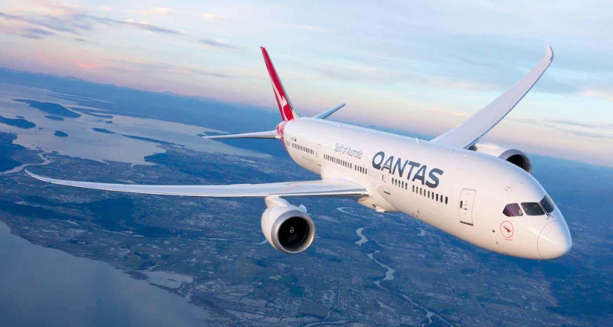 Qantas 787 9 Brisbane St Lucia Australian Cricket Team