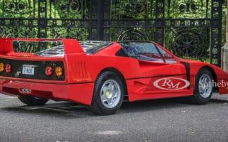 Sothebys Ferrari Kids Car F Racer Childrens Car 1