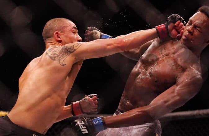 UFC Robert Whittaker Israel Adesanya Rematch