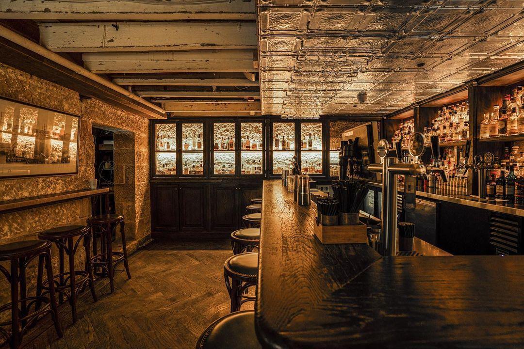best whisky bars the doss house
