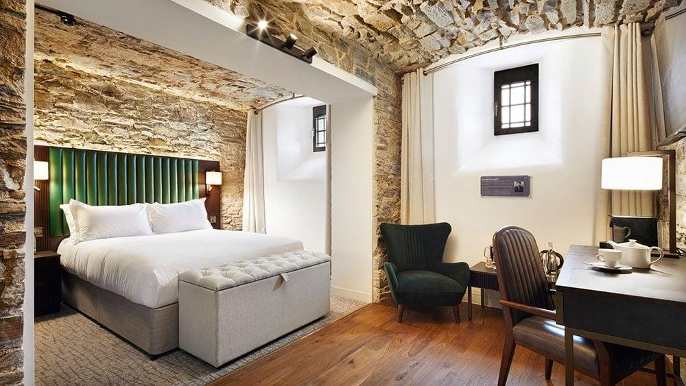 bodmin jail hotel bedroom feature