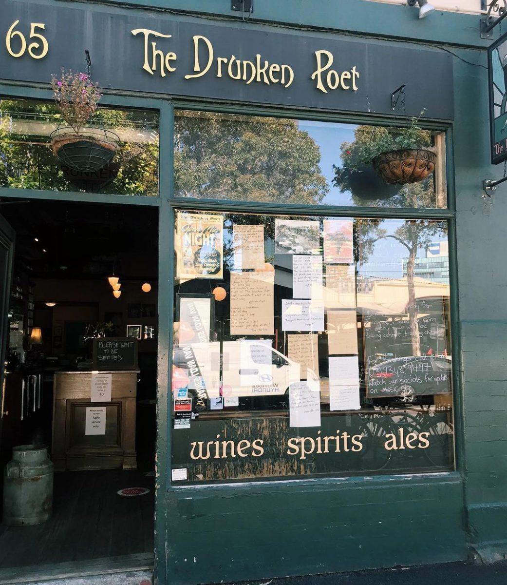 melbourne pubs the drunken poet