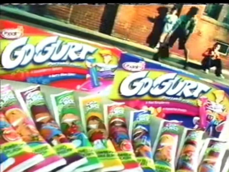90s snacks australia - go gurt
