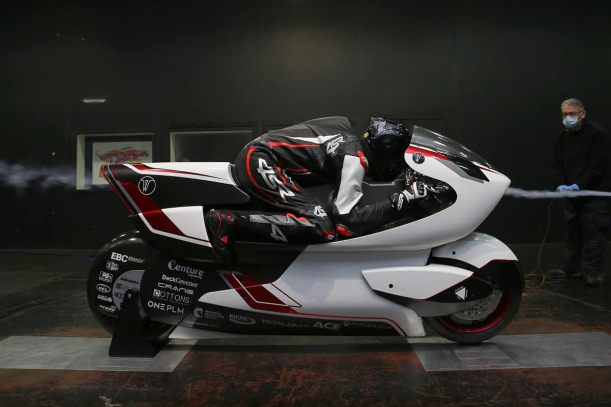 world's fastest motorcycle - White Motorcycle Concept WMC 250EV