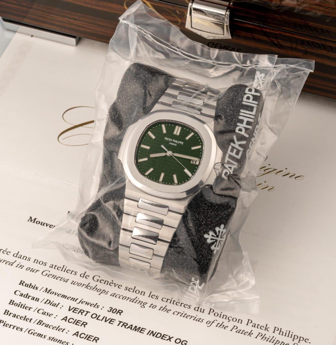 Patek Philippe 5711 auction