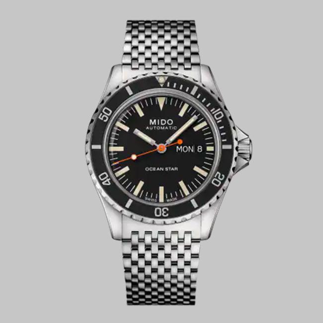 17Mido Ocean Star Tribute Black dial