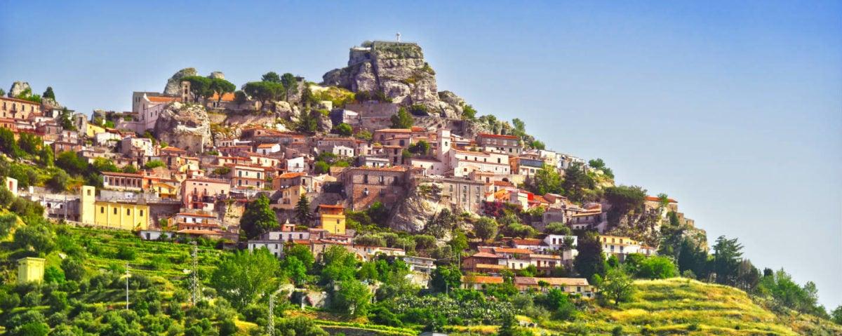 Calabria, Southern Italy move - Bova