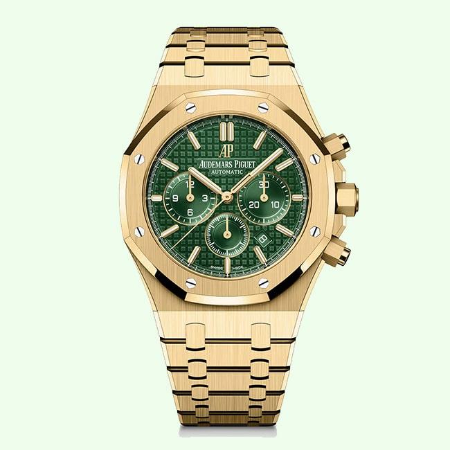 Audemars Piguet Royal Oak Green Limited Edition Chronograph