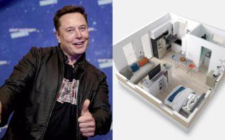 Elon Musk Boxabl Casita Prefab Tiny House 50000
