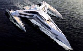 Estrella Superyacht Concept Star Wars Fighter