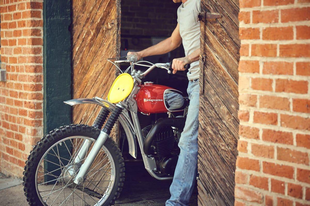 Steve McQueen's motorcycle