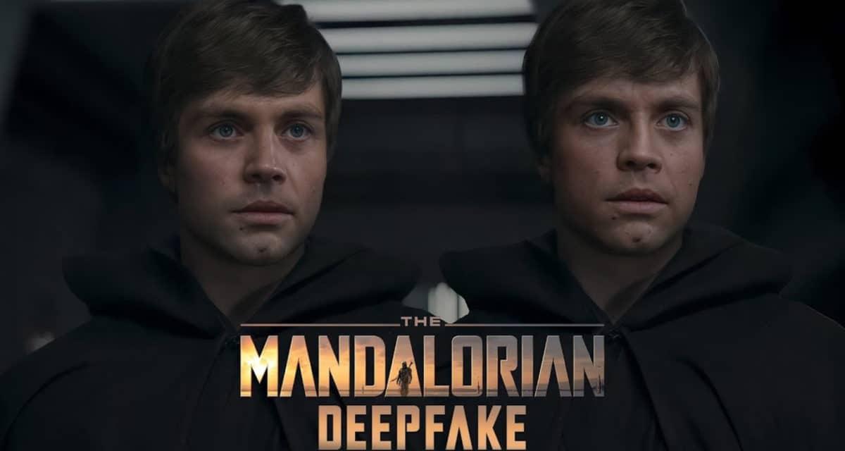 Luke Skywalker Mandalorian Deepfake