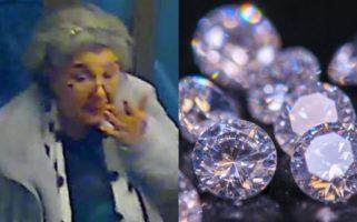 Lulu Lakatos 60 Year Old Gem Thief Almost Pulls Off 7.8 Million Diamond Heist