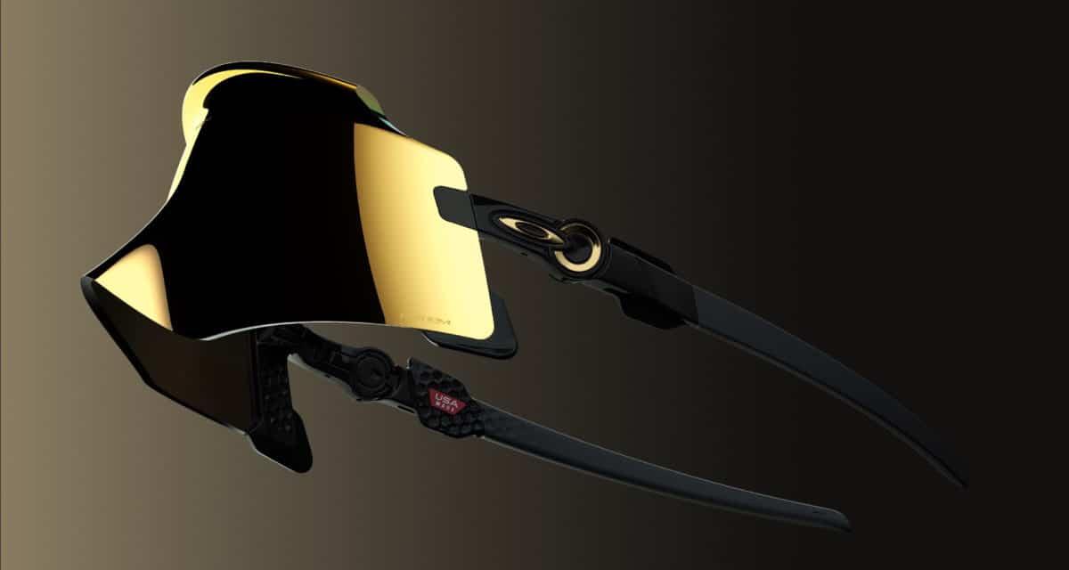 Oakley Kato with Prizm 24K lenses polished black frame