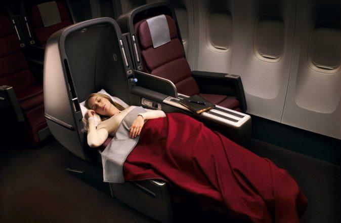 Qantas Points Auction A380 Business Class Seats