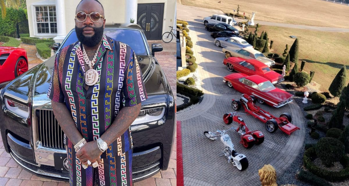 Rick Ross Car Collection No Drivers License