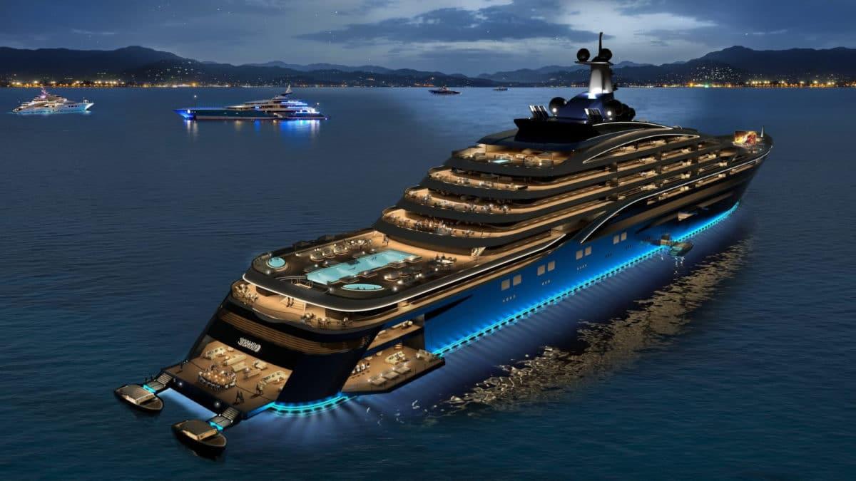 SOMNIO The Worlds Largest Superyacht