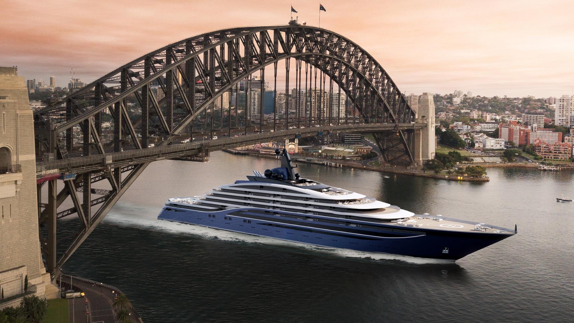 Somnio Worlds Largest Superyacht