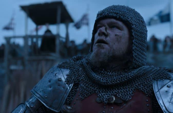 The Last Duel Matt Damon Ben Affleck Ridley Scott