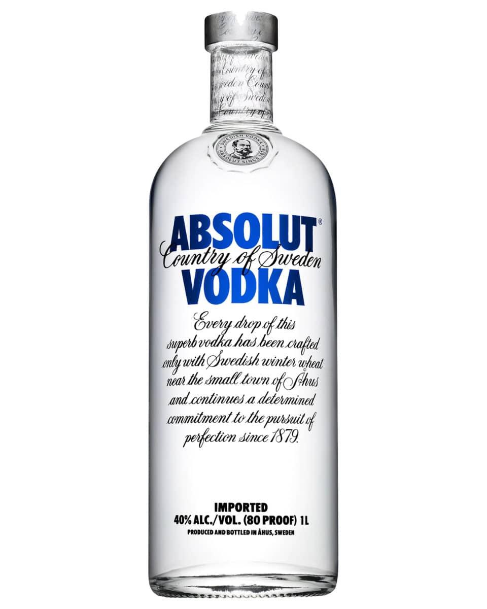 best vodkas - absolut