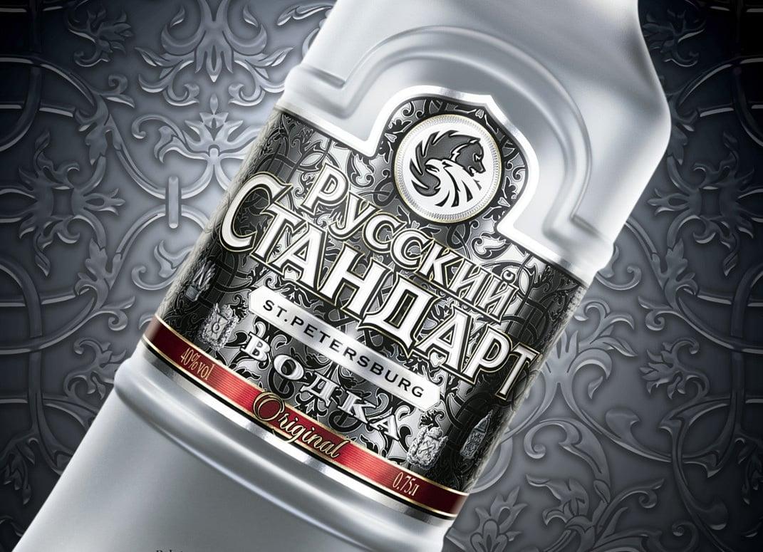 best vodkas russian standard