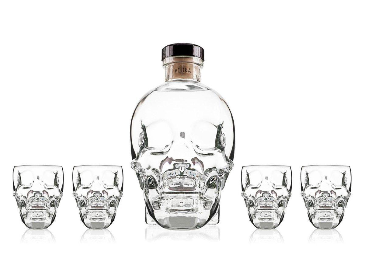 best vodkas - crystal head