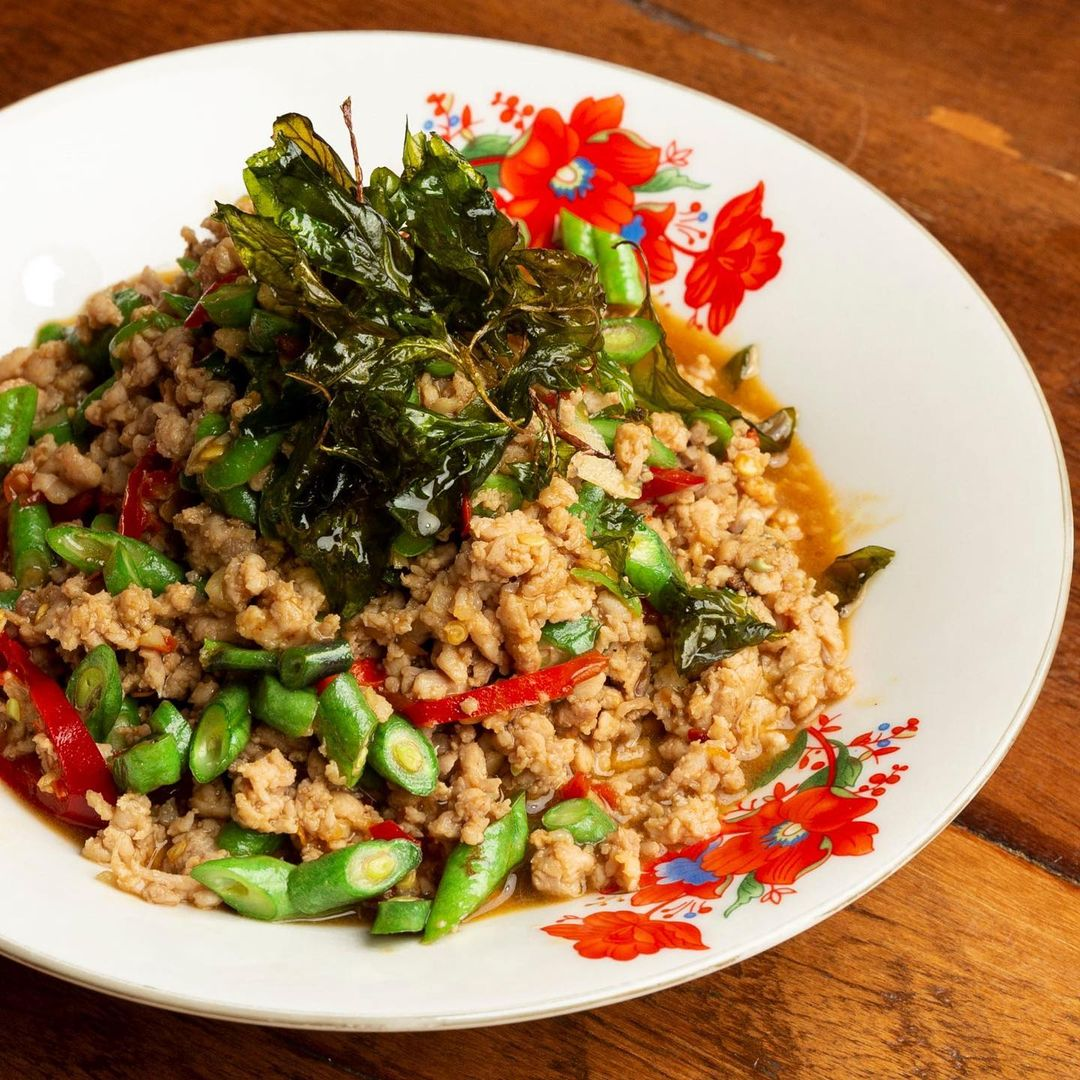 A dish from Isan Soul Thai Street Food in Melbourne.