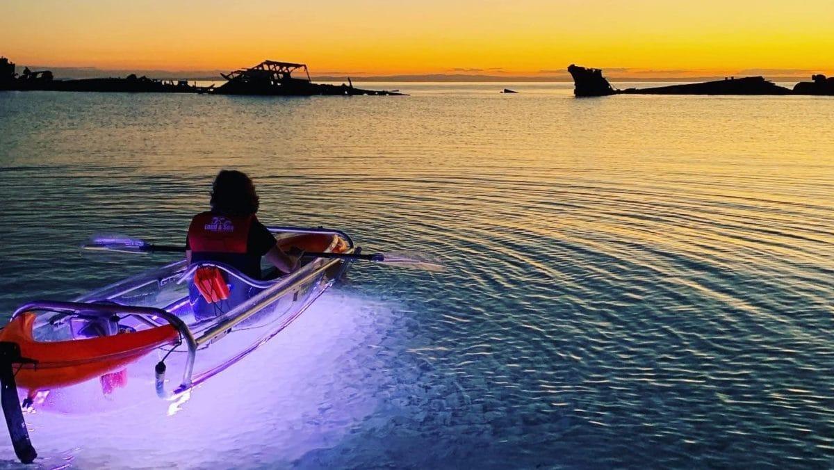 moreton bay kayaking