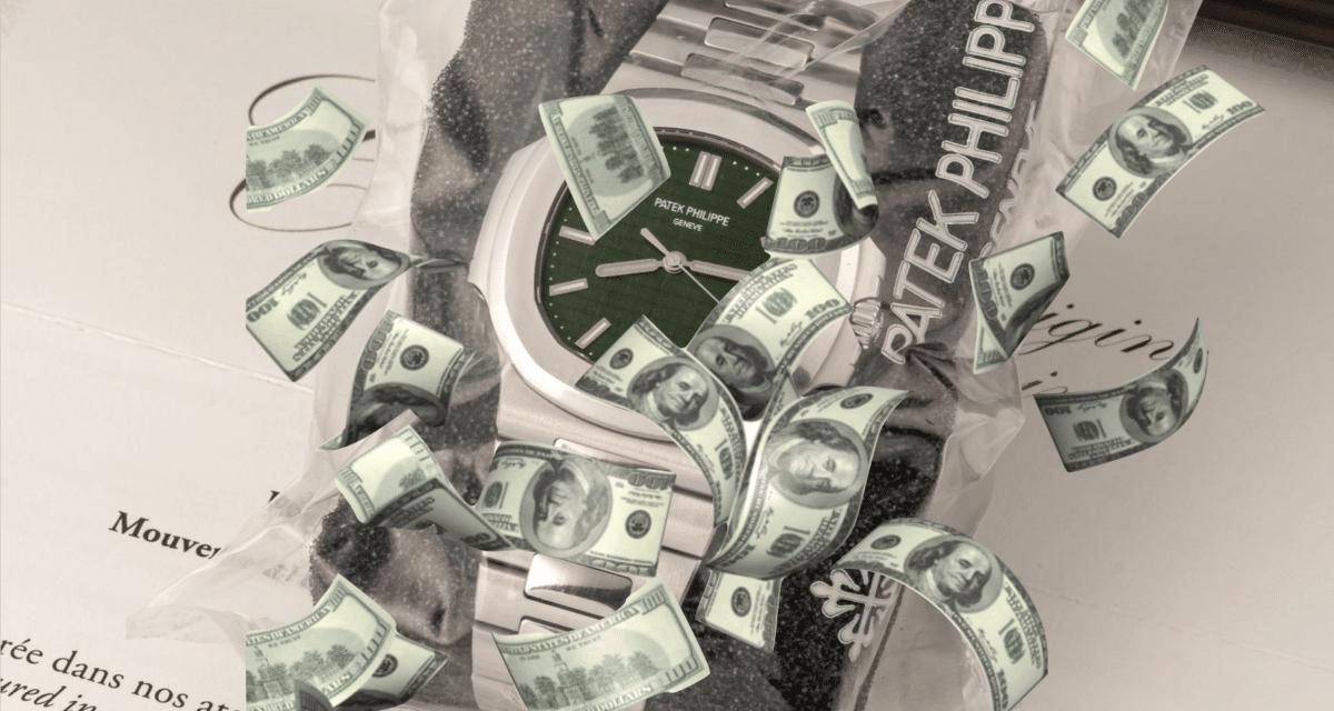 green Patek Philippe 5711