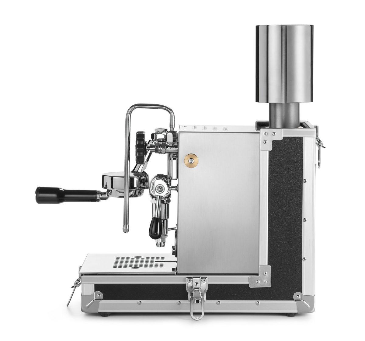 rocket porta via coffee machine