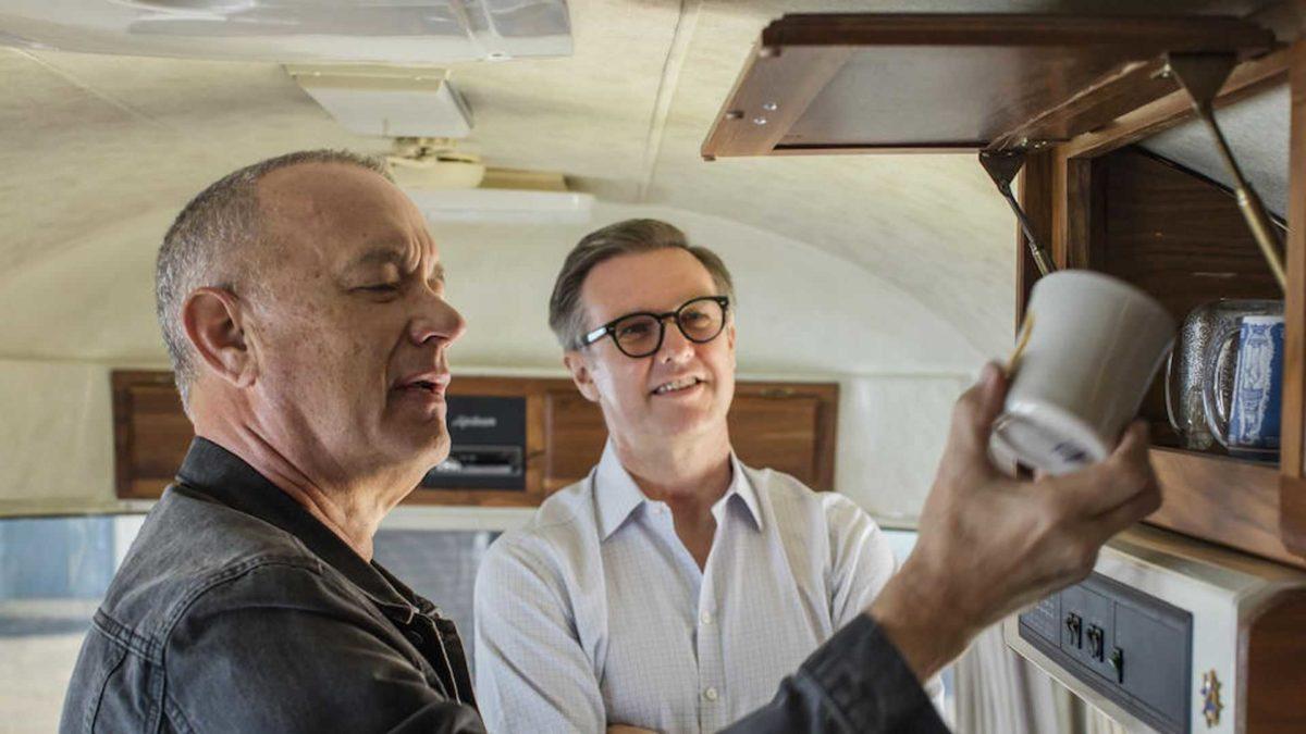 tom hanks airstream trailer interior memorabilia