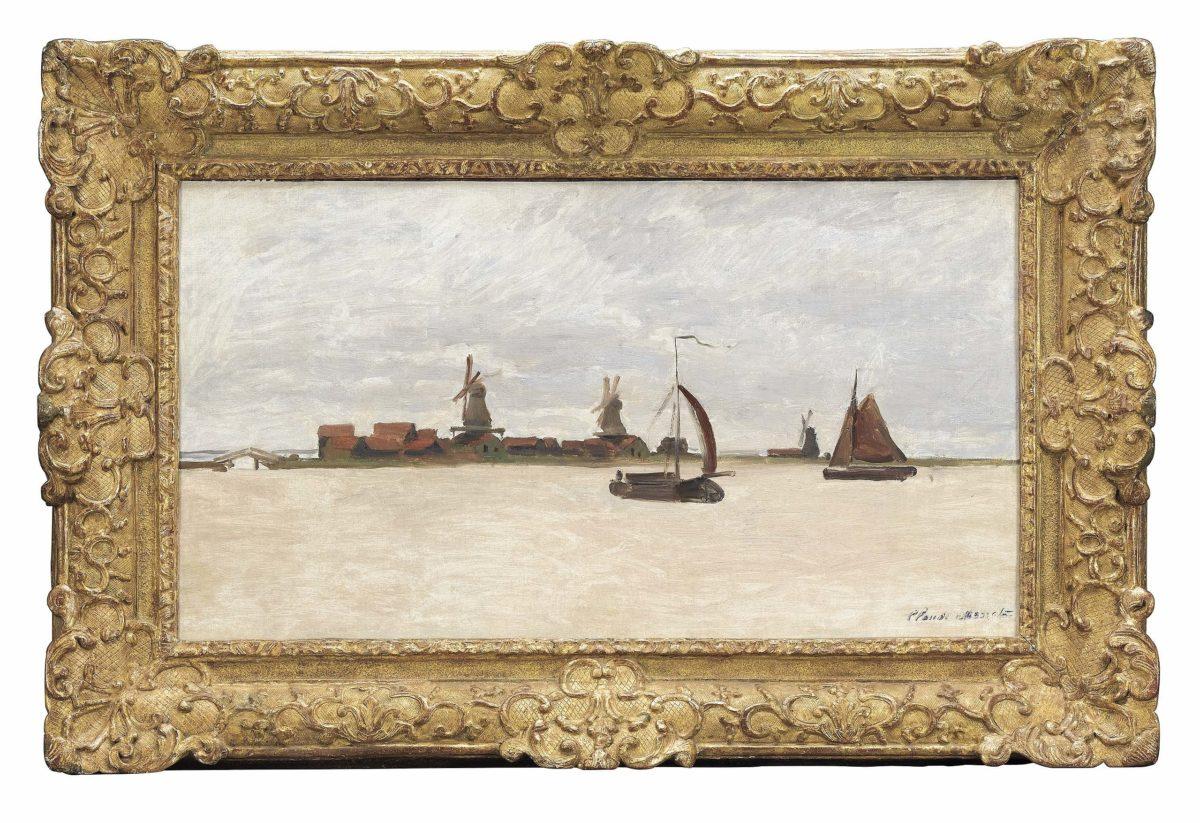 Thieves Fail Heist Zaans Museum Netherlands Monet De Voorzaan en de Westerhem 1871