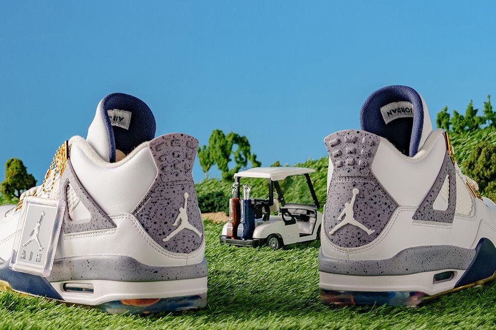 eastside golf air jordan IV golf sneakers