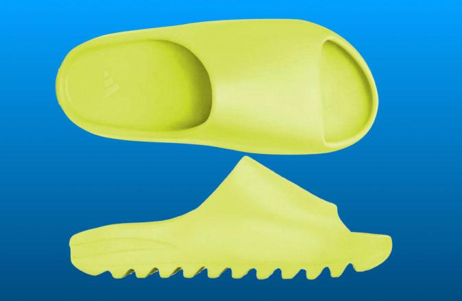 Adidas YEEZY Slide Glow Green8