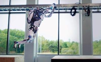 Boston Dynamics Atlas Robot Parkour Scary