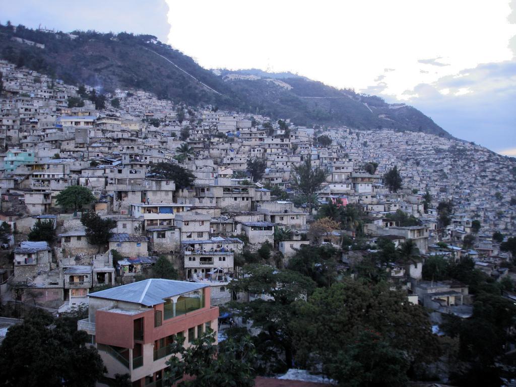 Hills of Petion Ville Haiti