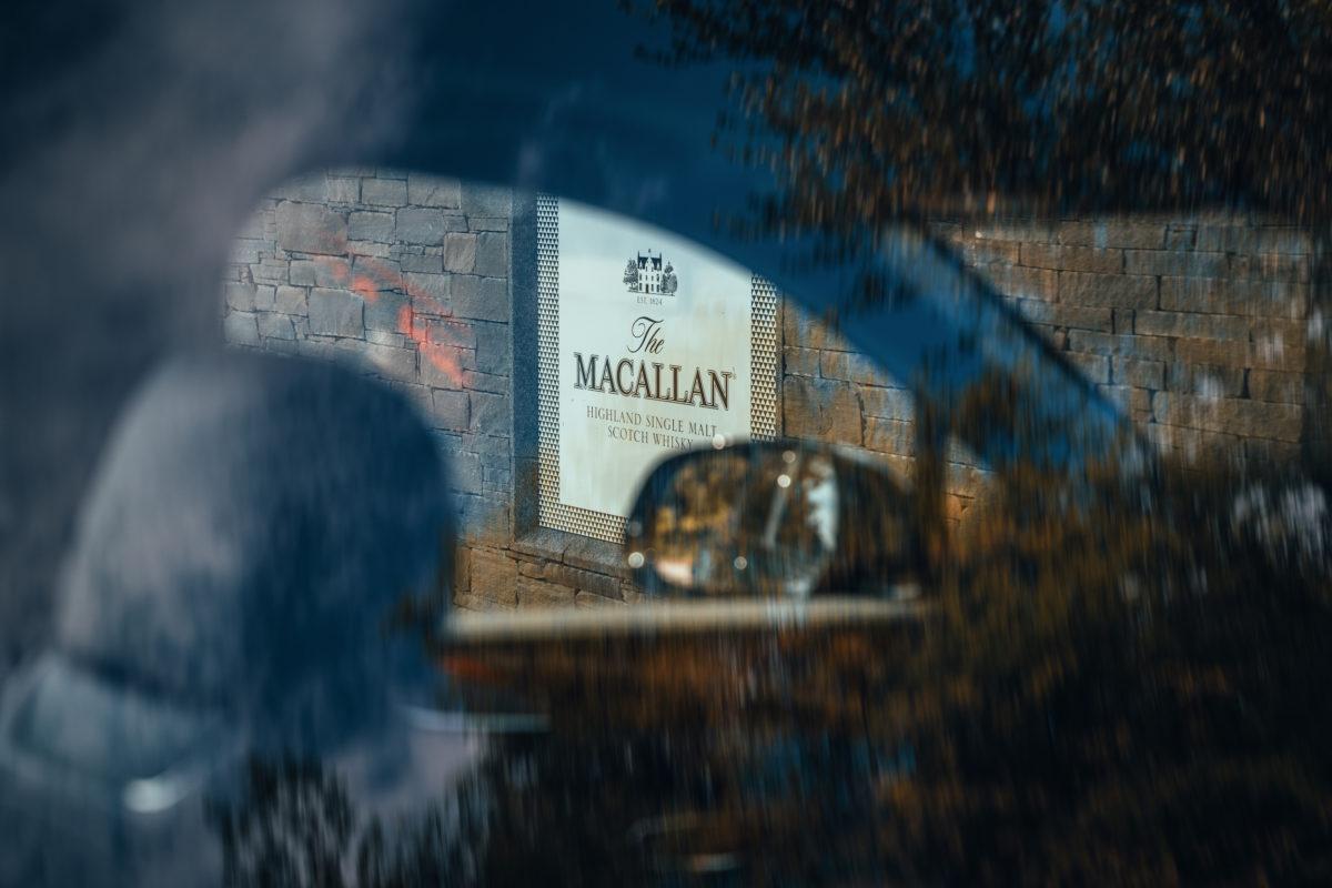 Imagery Bentayga Hybrid Macallan Estate Entrance 2
