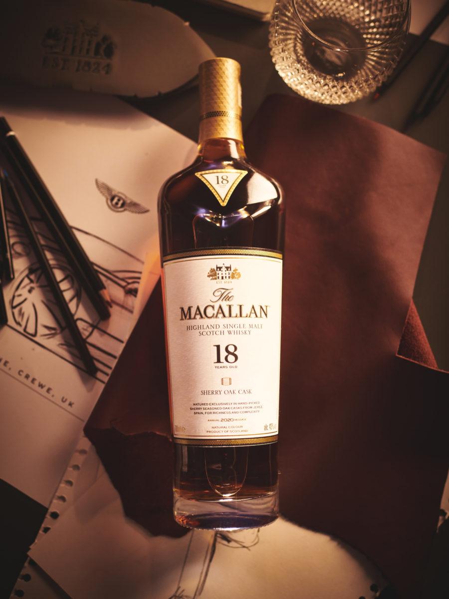 Imagery Macallan x Bentley Macallan Whisky Bottle 2