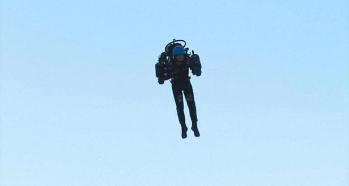 Jetpack Man Returns Los Angeles 1
