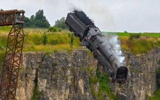 Mission Impossible 7 Train Stunt