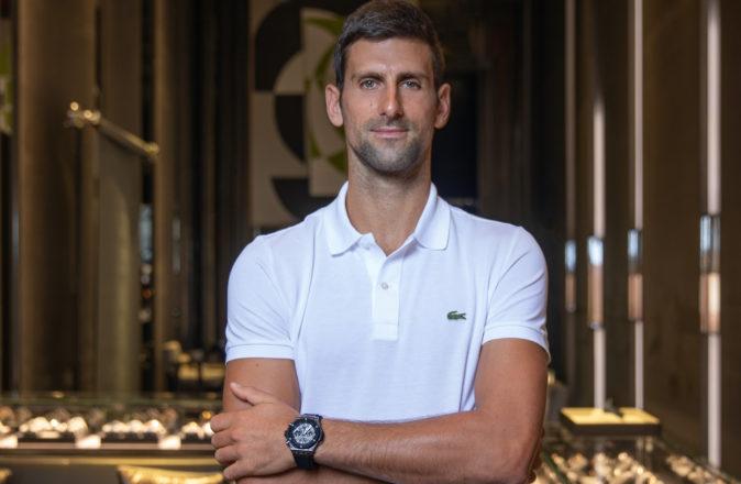 Novak Djokovic Hublot