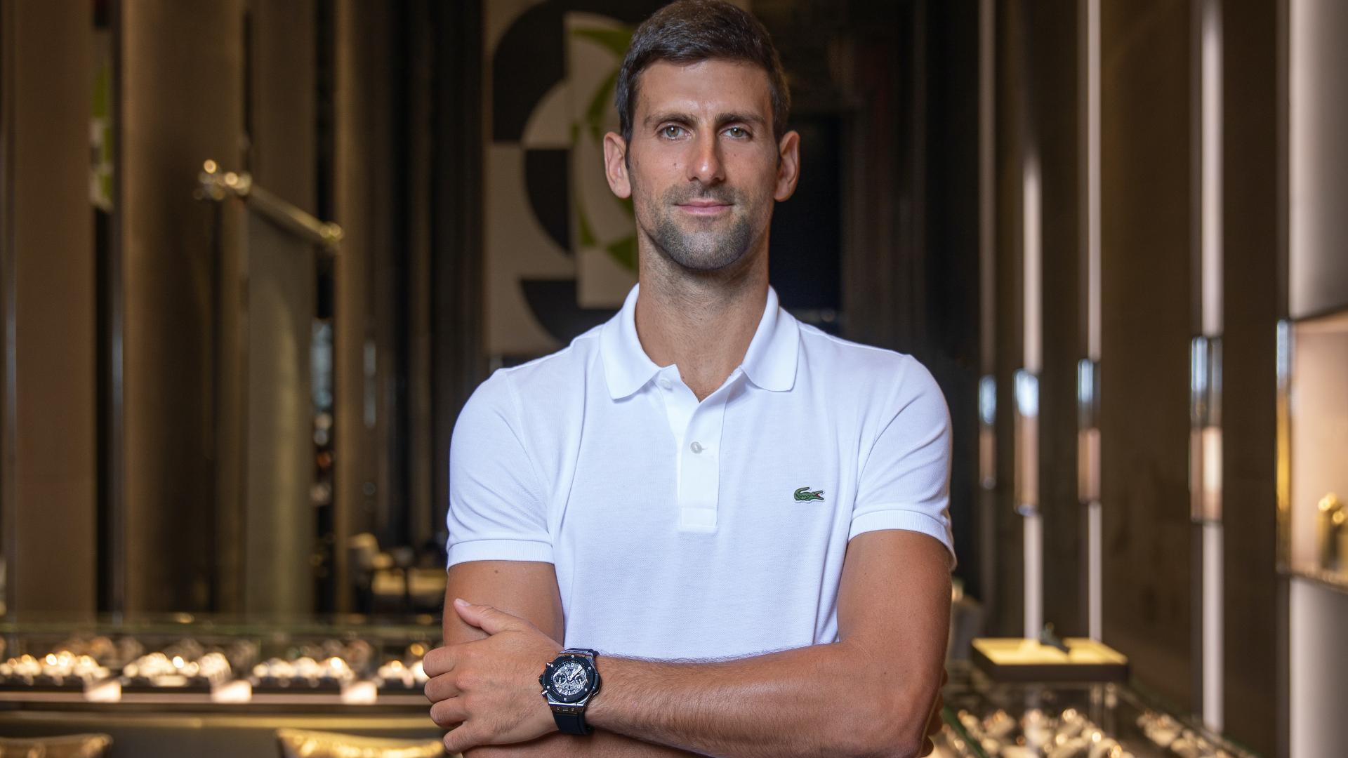 Novak Djokovic Is Now A Hublot Ambassador - Boss Hunting