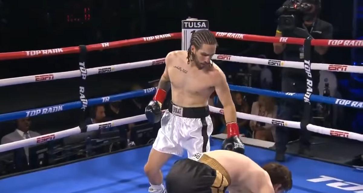 Nico Ali Walsh Muhammad Ali grandson pro boxing debut Round 1 TKO