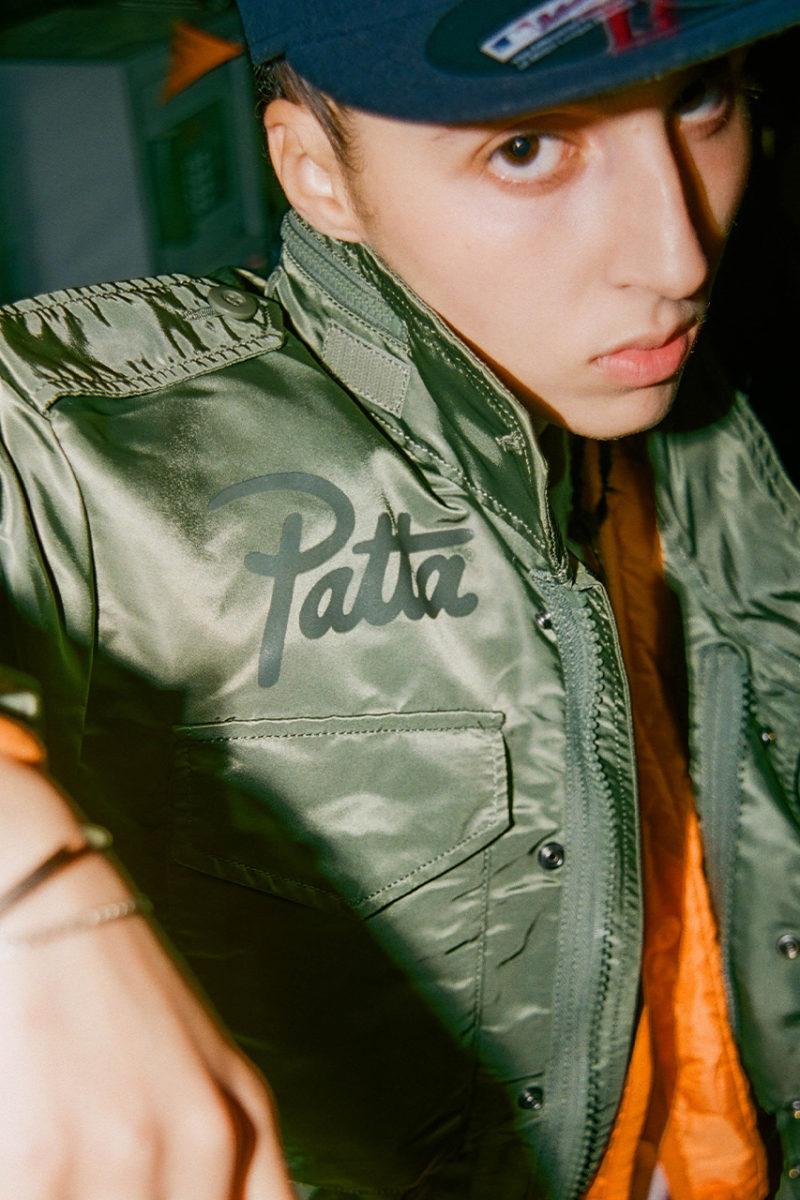 Patta Alpha Industries jacket1