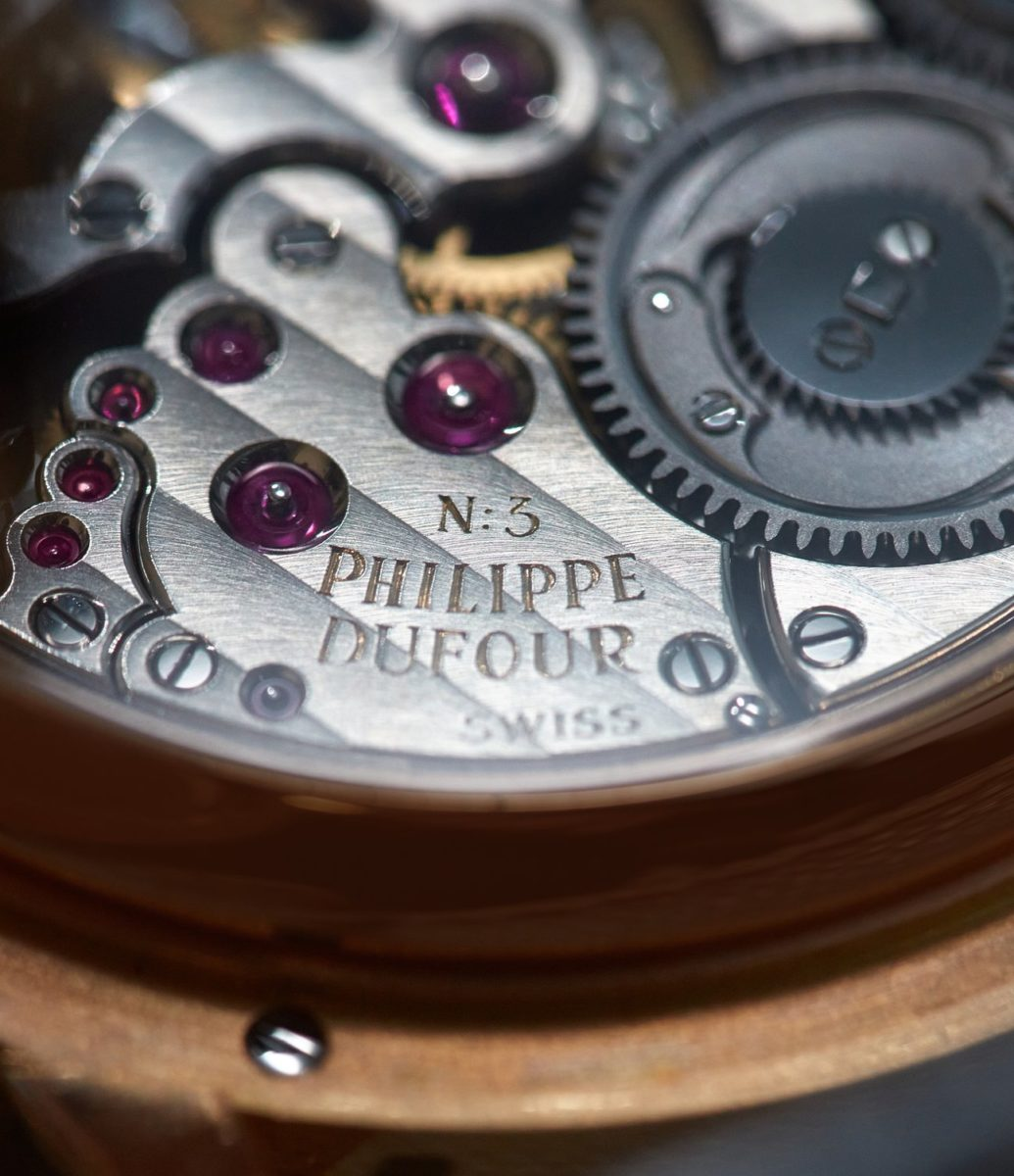 Philippe Dufour record
