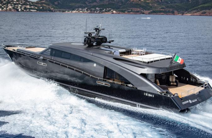 Roberto Cavalli Superyacht Freedom Batman