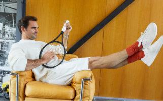 Roger Federer On Holdings Sneaker IPO