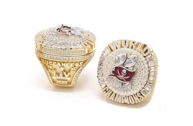 Tampa Bay Buccaneers Super Bowl LV Rings