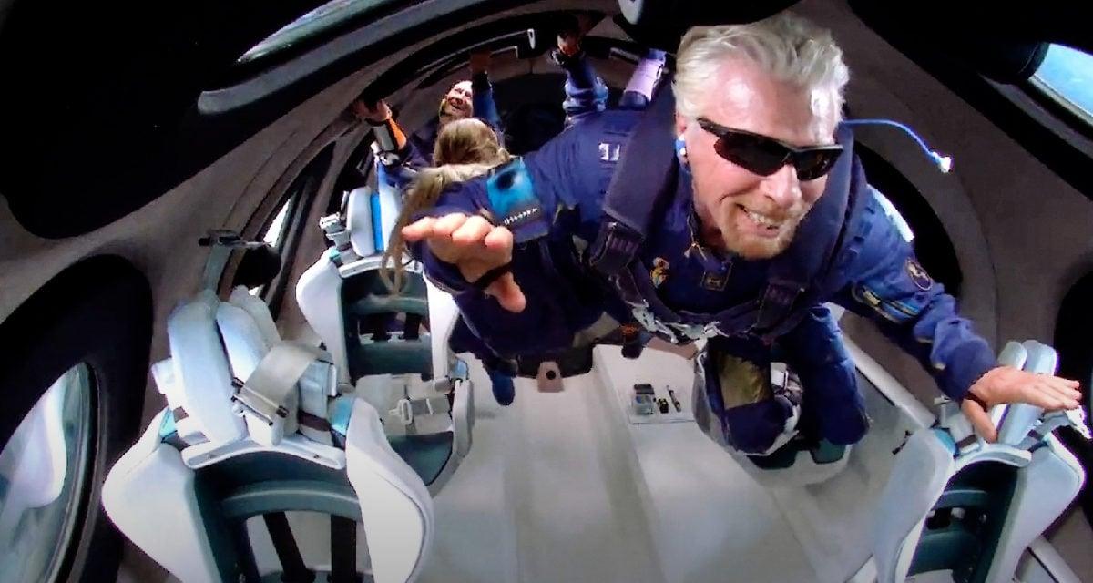 Sir Richard Branson Virgin Galactic ticket price
