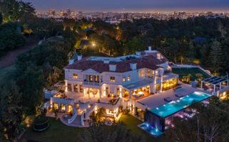 The Weeknd Bel Air Mansion